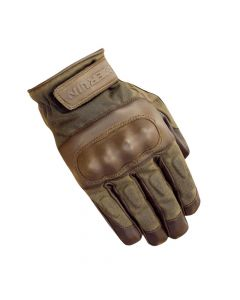 MERLIN Motorcycle Gloves Ranton Wax/ Lthr Brn