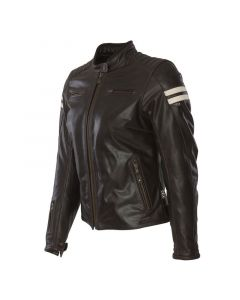 SEGURA RETRO LADY BR/BEIGE - Motorcycle Jacket