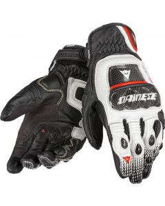 (CLEARANCE) DAINESE Motorcycle Gloves -  DRUIDS ST  NERO/BIANCO/ROSSO-LAVA