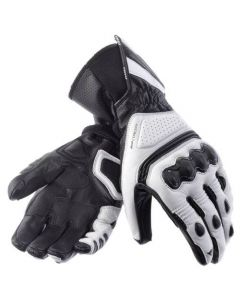 (CLEARANCE) DAINESE Motorcycle Gloves -  REDGATE MENS  BIANCO/NERO/CARBONIO
