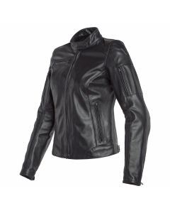 DAINESE NIKITA 2 LADY LEATHER  BLK   - Motorcycle Jacket