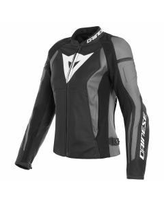 DAINESE NEXUS LADY LEATHER BLK/BLK/EBONY   - Motorcycle Jacket