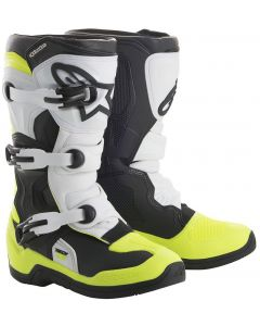 ALPINESTAR Tech 3S V2 Youth Black White Fluro Yellow - Motocross Boot