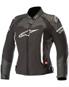 ALPINESTAR Stella Spx Airflow Leather Jkt Black White - Motorcycle Ladies Jacket