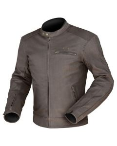(Clearance) Dririder Phoenix Leather Jacket -Brown