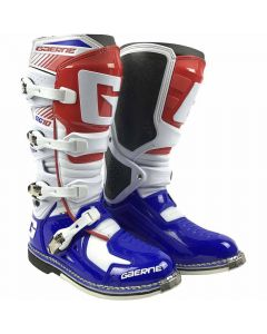 GAERNE 2018 SG-10 WH/BLU/RED  - Off Road Motorcycle Boot
