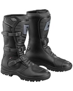 GAERNE G ADVENTURE BLACK/BLACK  - Off Road Motorcycle Boot