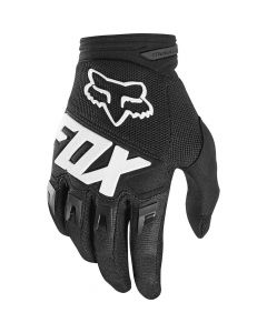 FOX 2020 YTH DIRTPAW- RACE -BLK   - Motorcycle Gloves