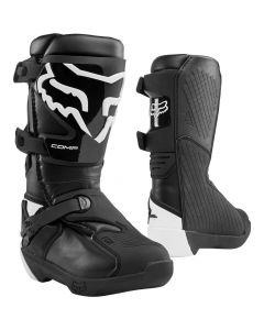 FOX 2020 YTH COMP -BLK   - Motorcycle Boots