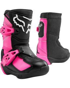 FOX 2020 COMP K-BLK/PNK   - Motorcycle Boots