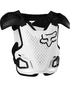 FOX 2020 YTH R3 -WHT   - Motorcycle Protection