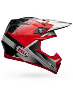 (CLEARANCE) Bell MOTO-9 FLEX HOUND - RED/WHI/BLK