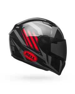 (CLEARANCE) BELL QUALIFIER BLAZE - GLO BLK/RED/TIT