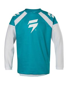 SHIFT 2020 Motorcycle YOUTH WHIT3 RACE JERSEY 1 - GRN