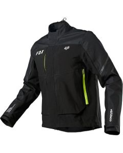 FOX 2021 Motorcycle LEGION DOWNPOUR JACKET BLK MENS OUTERWEAR