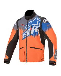 ALPINESTARS 2021 VENTURE R JACKET - Orange Gray Bright Blue