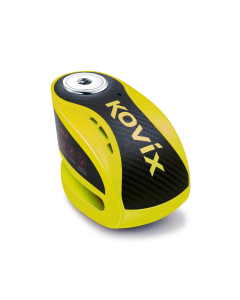 KOVIX ALARM DISC LOCK KNX-6 YELLOW