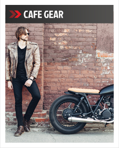 Motorcycle Cafe Gear