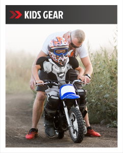Motorcycle kids-and-youth Gear