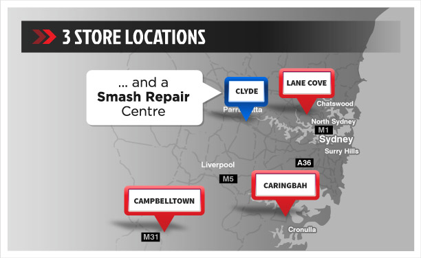 3 Store Locations